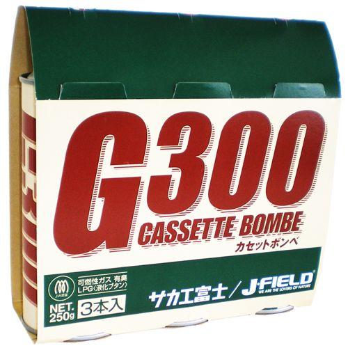 サカエフジ カセットボンベ G-300 3本