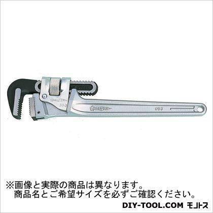 スーパーアルミ製パイプレンチ(トライモタイプ)  本体全長:498mm DTA600E