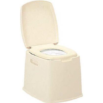 【送料無料】TONBO ポータブルトイレS型 505 x 418 x 395 mm 7427