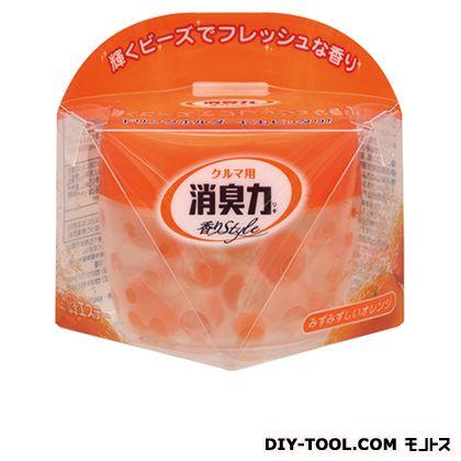 クルマ用消臭力置くタイプみずみずしいオレンジ   K-58