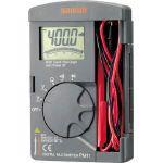 【送料無料】SANWA ポケット型デジタルマルチメータ 184 x 106 x 28 mm PM11
