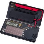 【送料無料】SANWA ソーラー充電ポケット型デジタルマルチメータ 188 x 140 x 19 mm