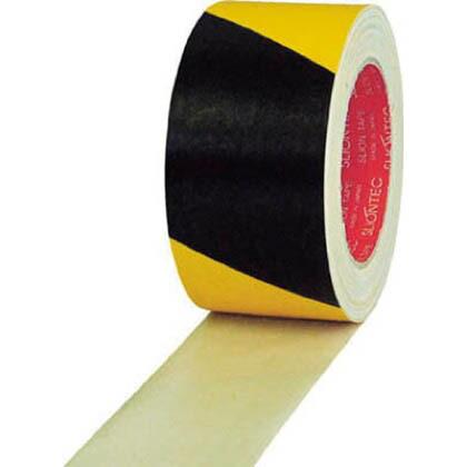 危険表示用布粘着テープ50mm×25mイエロー/ブラック   336200-SS-00-50X25