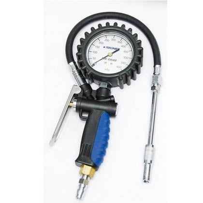 増減圧機能付タイヤゲージ(0-600KPA)   46966