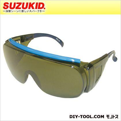 スズキッド ウェルディンググラス♯3保護メガネ(ガス溶接・切断用)ガス溶断・溶接用遮光サングラス p-497