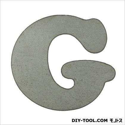 スズキッド スチールマテリアル 切文字G 40×38×2 FSM-G 溶接 表札