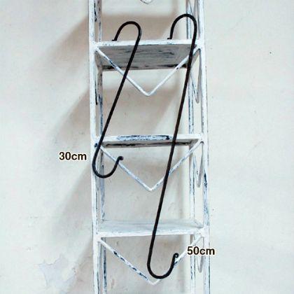鉄のロングS ホワイト 50cm 1212ID-61-4-50 2 個