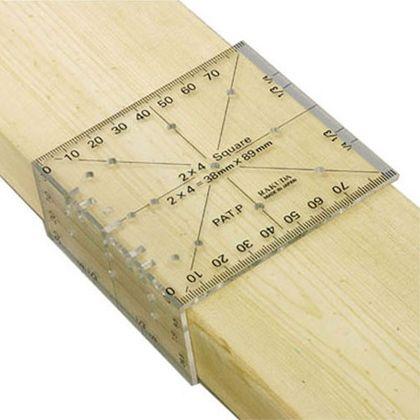 ツーバイフォー定規(2×4木材用)   12022