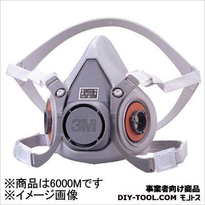 防毒マスク面体 6000  M 6000M 1 個