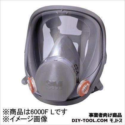 防毒マスク全面形面体 ラージサイズ   6000FL 1 個