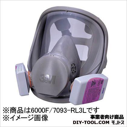 全面形防じんマスク R3  L 6000F/7093-RL3L 1 ヶ