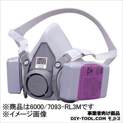 防じんマスク  M 6000/7093-RL3M 1 ヶ