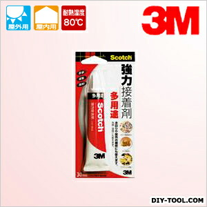 3M(スリーエム) 強力接着剤<多用途> 30ml 6004N