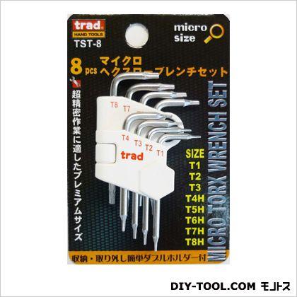 精密トルクスレンチセット   TST-8 8 PC