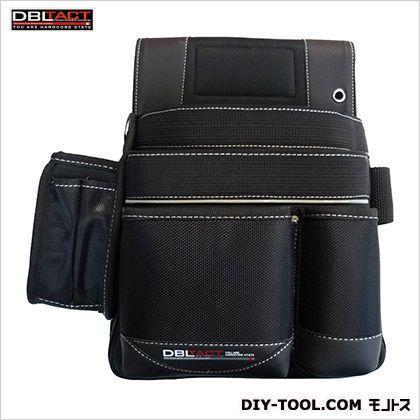 釘袋 ブラック H320×W310×D150mm DT-19-BK