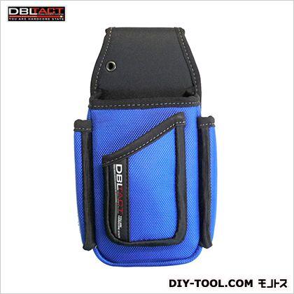 店舗用ポケット ブルー H240×W110×D60mm DT-TS-10