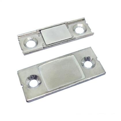 ズレ防止薄型マグネットキャッチ セット  35x12x2.2mm CA0264-A01