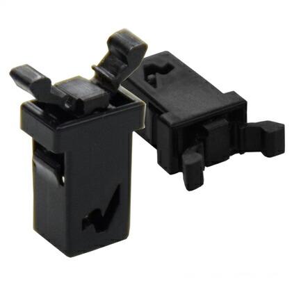 プッシュラッチ ノーマグネットタイプ(S) 黒 20.0x14.0x7.0mm SS0053-A01A