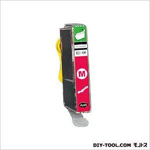 キャノンプリンタ対応インクカートリッジMIKインクマゼンタ(BCI-6M互換)   CA367