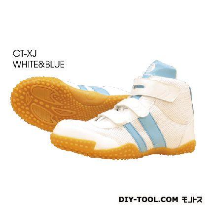 セフティースニーカー ホワイト/ブルー 28.0cm GT-XJ