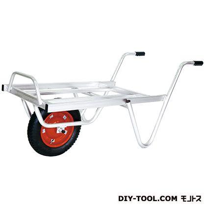 シシク 農業・園芸用運搬台車一輪Sタイプ(アルミロング台車) 荷台サイズ:530×740mm TC-1009