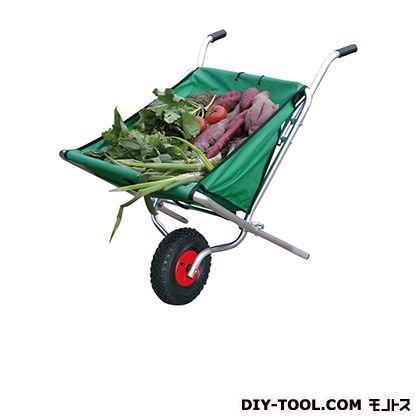 シシク 農業・園芸用運搬台車スタンダードタイプ(一輪台車) ヨコ×タテ:460×1080mm TC-1004A