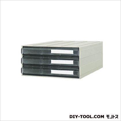 サカセ ビジネスカセッターA4タイプ引出3段 A4-243