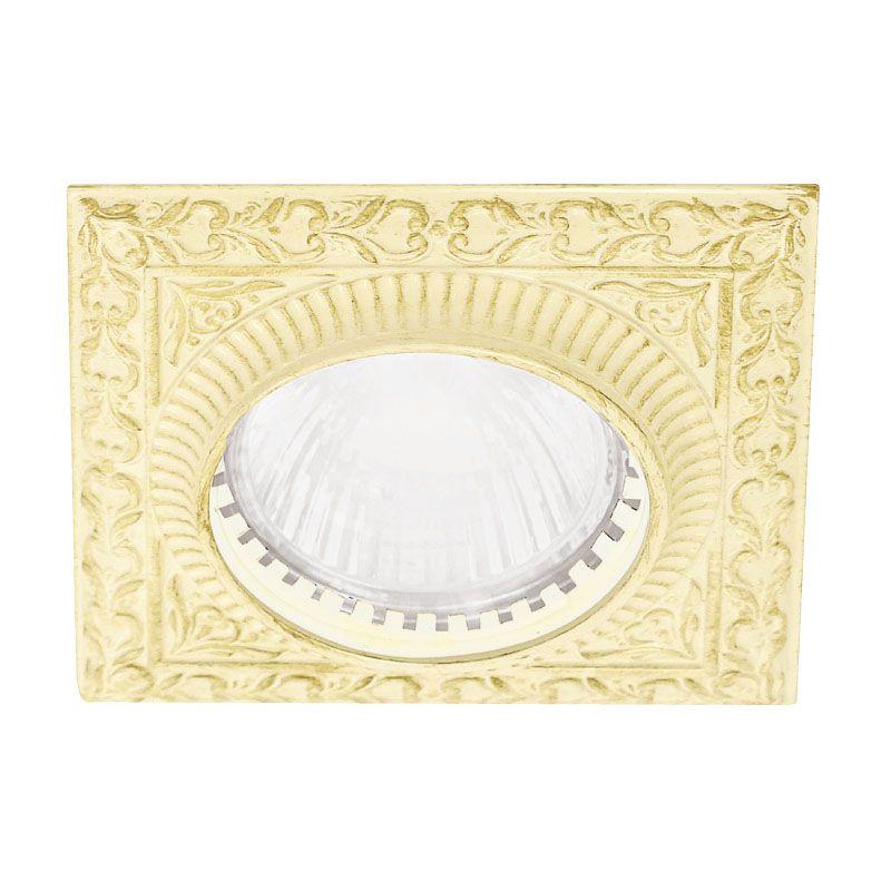 サンセバスチャン照明プレートラウンド ホワイトデカベ 100×100mm PXP-FL-1005C-BD