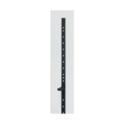 ステンレス鋼製棚柱SPE型 ブラック  SPE-1820BL