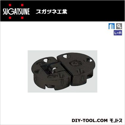 スガツネ(LAMP) ドロップ丁番 ブラック SDH-001BL
