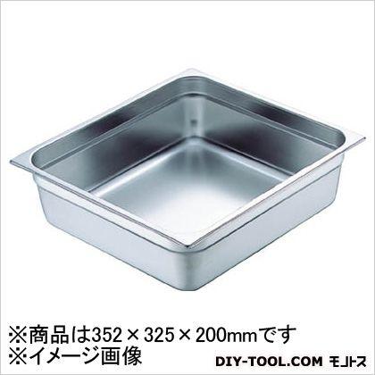【送料無料】スギコ 18−8スーパーデラックスパン2/3サイズ353×325×200 365 x 340 x 235 mm SH-1878SW