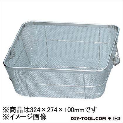 スギコ ステンレスバスケット浅型小340×290×100 SC-C