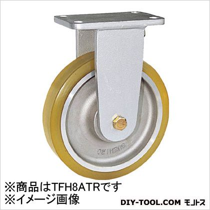 リボキャスター固定車ウレタン車輪Φ200(×1個)   TFH8ATR