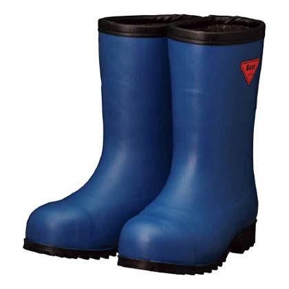 【送料無料】SHIBATA 防寒安全長靴セーフティベアー#1011白熊(ネイビー)フード無し 500 x 370 x 110 mm AC061-26.0 0