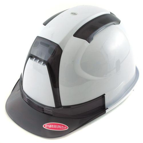 TOYO通気孔付きヘルメット(白)   NO.390F-OTSS-W