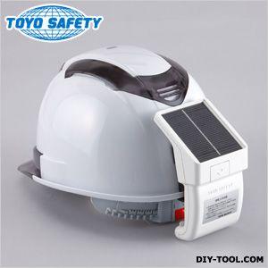ヘルメット取付送風機Windyソーラーパネル採用USB充電可能   No7700