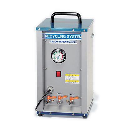 フルオロカーボン再生装置(循環式簡易再生、配管共洗い洗浄装置)  幅×奥行×高さ:265×265×510mm TA110TB