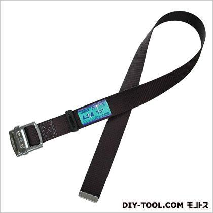 安全帯用胴ベルトのみ黒色鉄バックル付  ●胴ベルト:幅50mm×長さ1200mm UB-L90N-BLKBP
