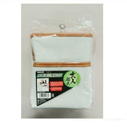 TLS-3床革電工腰袋2段   7447005