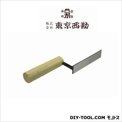 東京西勘 平目地鏝(人造)平メジ 24mm