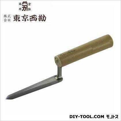 東京西勘 ステン元首平グリ鏝 120mm