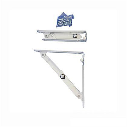 折りたたみ棚受 15cm用 セット 白色 少々 150(小々) 2 本
