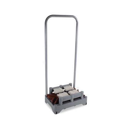 【送料無料】テラモト ユキドロオトシサイドブラシ1段タイプ 256×378×H880mm MR-178-020-0