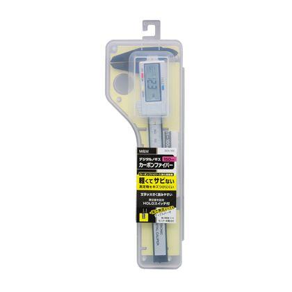 カーボンファイバー デジタルノギス 150mm  H275×W90×D22(mm)