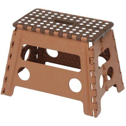 折りたたみ踏み台セノ・ビー幅ひろ君32cm ブラウン 使用時:W450×D300×H320 10070
