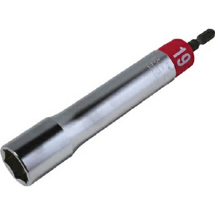 電動ドリル用アルファソケットロングタイプ19mm   EDX-19L
