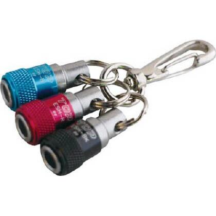 携帯用ソケットホルダー3色セット(青×赤×黒)   ESH-BRBKN