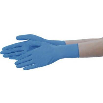 テイジン ニトリル手袋粉なし青LL NBR-PF10B-LL 100枚