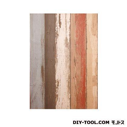 壁紙(クロス)の上から簡単に貼れる壁紙シール オールドウッド W46.5×H250cm KABE-01