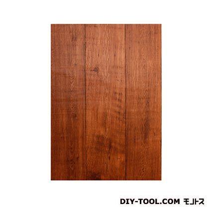 壁紙(クロス)の上から簡単に貼れる壁紙シール ブラウンウッド W46.5×H250cm KABE-04
